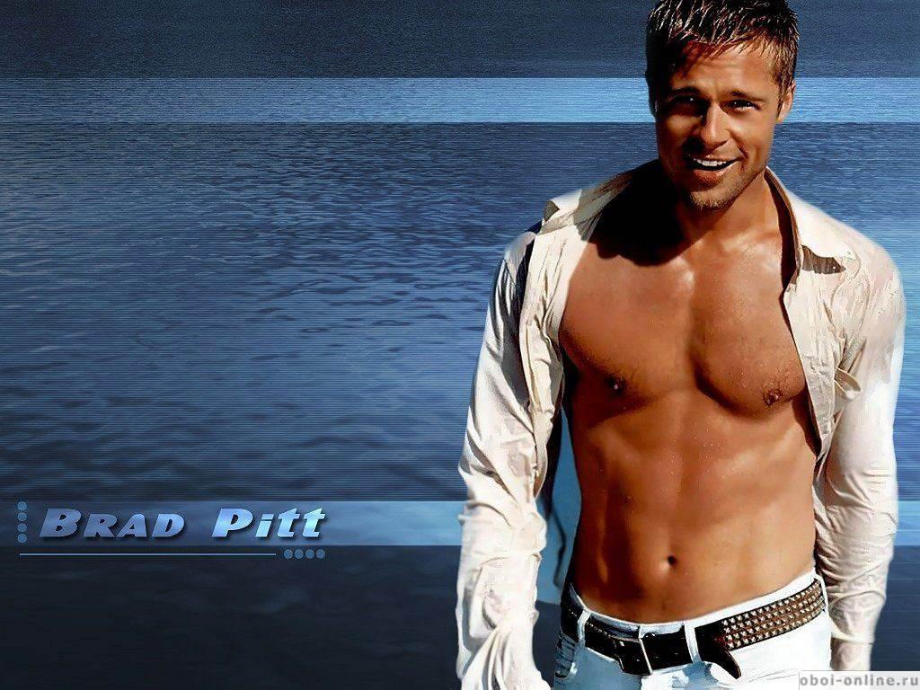 Brad Pitt бред питт-красивый парень любовь